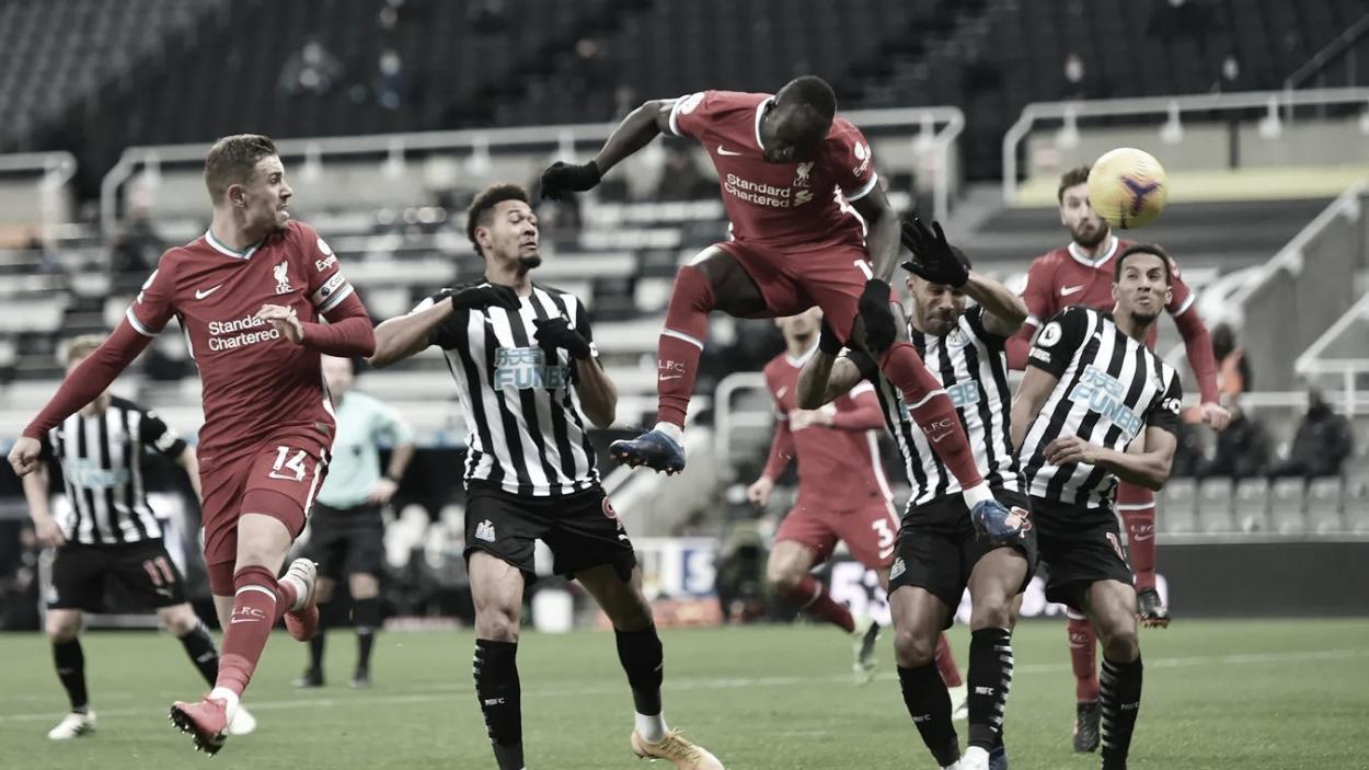 Sadio Mané no pudo prolongar su racha goleadora./ Foto: Premier League