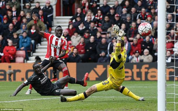 Mane has developed a habit of scoring against Liverpool (photo; Getty Images)