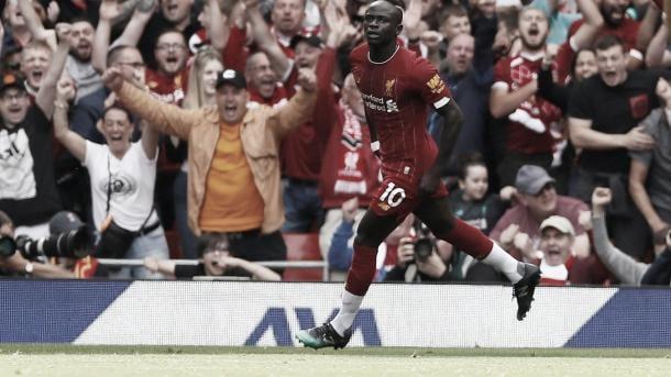 Mané pone el primero./ Foto: Premier League
