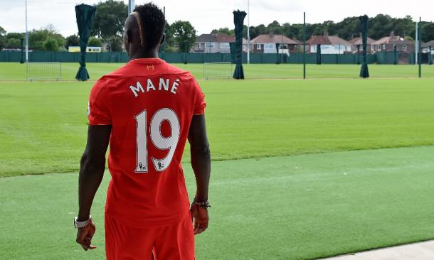 Mane will don the No.19 shirt for the Reds in 2016-17. (Picture: Getty Images)