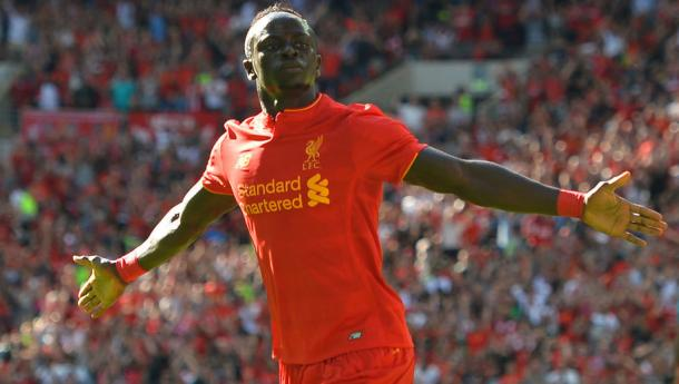 Mane also impressed for the Reds in their pre-season win over Barcelona at Wembley. (Picture: Getty Images)