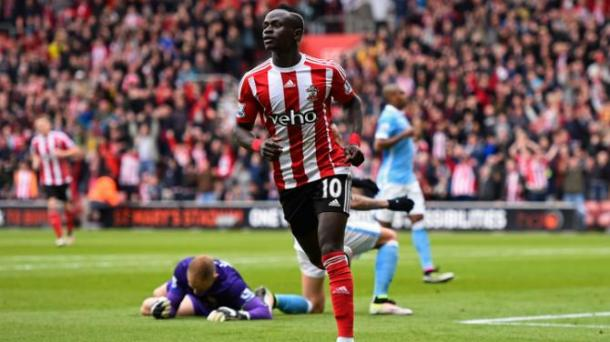 PRO: Mane bagged three against Manchester City as Southampton tore them apart (photo: Getty Images)