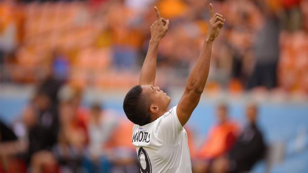 Mauro Manotas abrió la lata // Imagen: Houston Dynamo