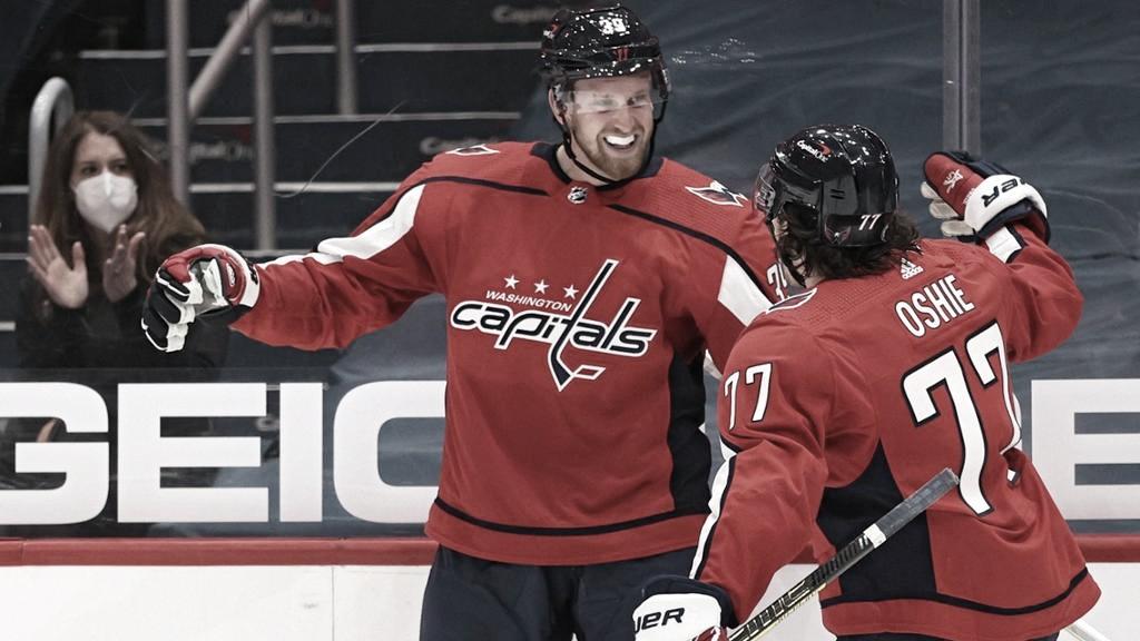 A Mantha parece sentarle bien el jersey de los Caps | Foto: NHL.com
