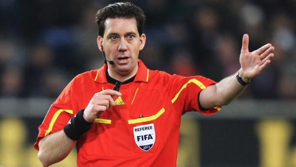 Manuel Gräfe colegiado del encuentro. Foto:UEFA.