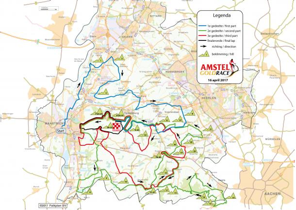 Fuente: Amstel Gold Race oficial