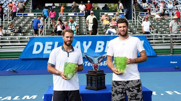 Oliver Marach (left) and Fabrice Martin (Photo: ATP World Tour)