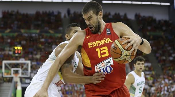 Campeão da NBA com o Toronto Raptors, Marc Gasol é um dos líderes da Espanha para a competição (Foto: Divulgação/FIBA)