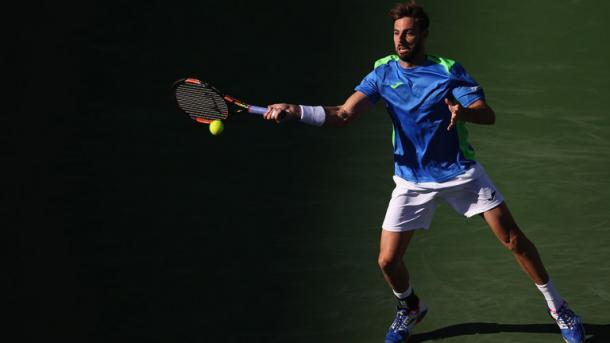 Granollers showed flashes of brilliance, but it wasn't enough. Photo: Getty Images