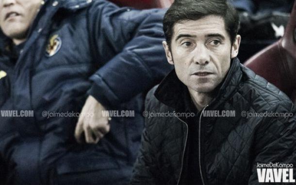 García Toral en el banquillo | Foto: Jaime del Campo - VAVEL