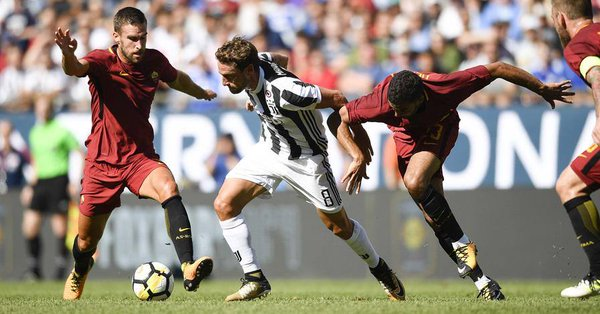 Un super Marchisio in contrasto | Foto: gazzetta.it