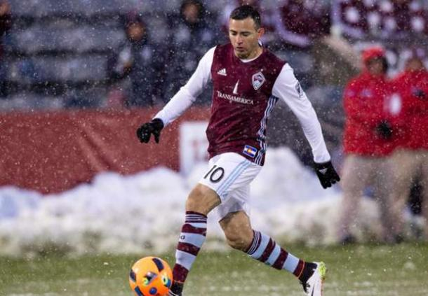 The Rapids will be without their play maker Marco Pappa on Saturday due to a knee injury. Photo provided by Isaiah J. Downing