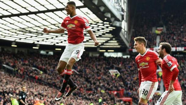 Rashford has been one of United's shining lights this term. (Picture: Getty Images)