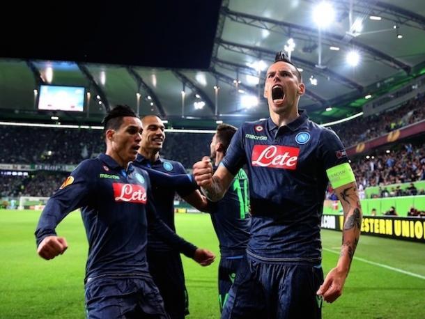 Hamsik celebrates a goal (photo: getty)