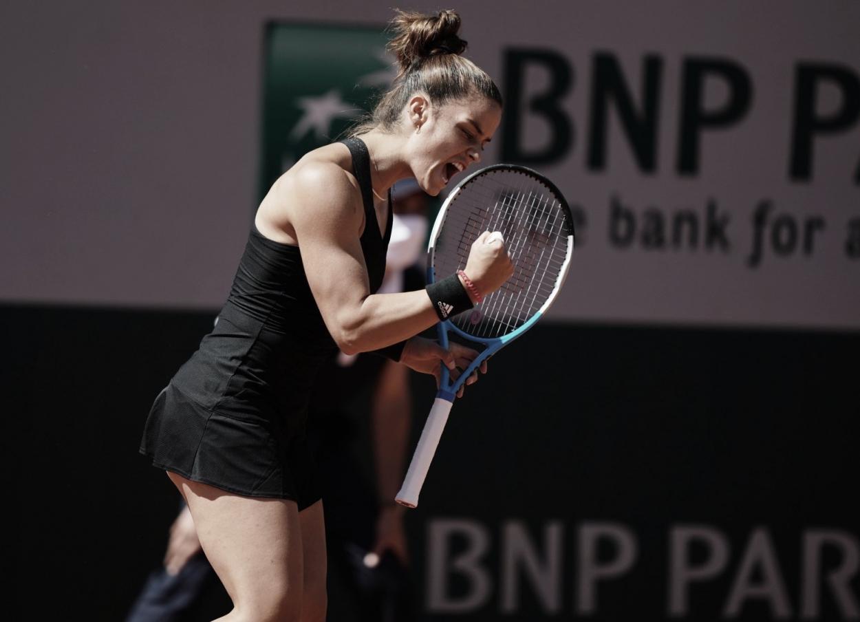 Maria Sakkari Foto Roland Garros