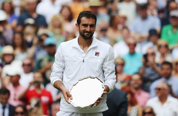 The 2014 US Open champion was dejected during the trophy presentation (Source: Pool / Getty)