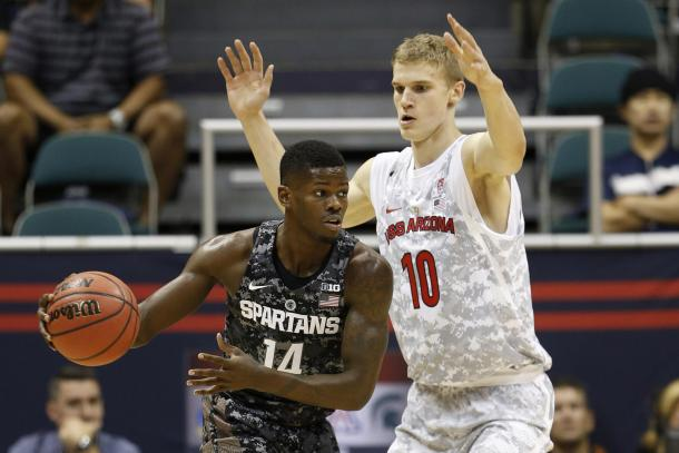 Lauri Markkanen leads the Arizona Wildcats in several offensive categories. | Photo: Arizona Wildcats