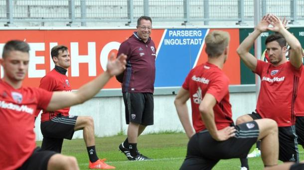 Kauczinski has quickly settled into life with Ingolstadt. | Credit: dpa