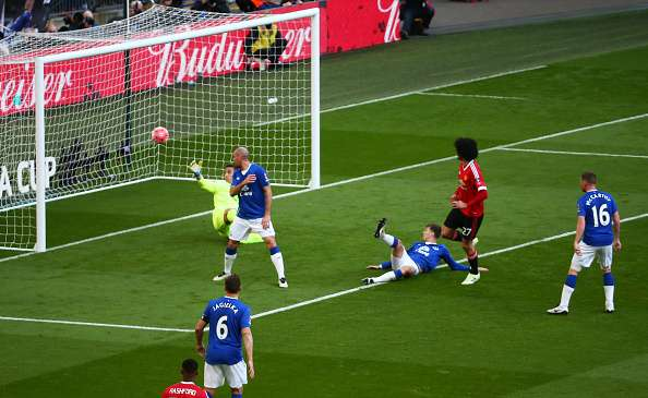 Fellaini has scored in his last two FA Cup appearances | Photo: Getty