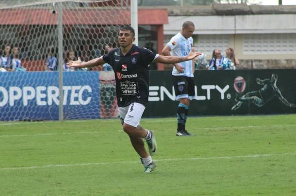 Principal jogador do Remo na conquista, Felipe Marques marcou gol em um dos Re-Pa (Foto: Fábio Will/Ascom Remo)