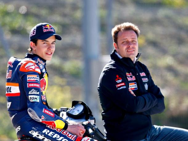 Emilio y Marc en 2010. Foto: MotoGP.com