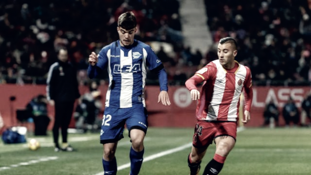 Martín Aguirregabiria debutó ayer en Primera División Fotografía: LaLiga