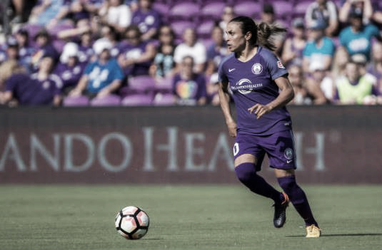 Marta with the Orlando Pride | Photo: Joe Petro/Getty Images