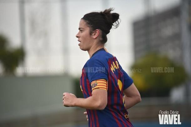 Imagen de Marta Torrejón, jugadora del FC Barcelona. FOTO: Noelia Déniz