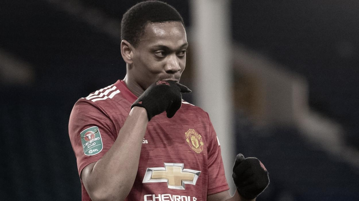 Martial sentenció el partido./ Foto: Manchester United