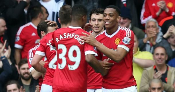 Marcus Rashford and Anthony Martial have stood out for United | Photo: teamtalk.com
