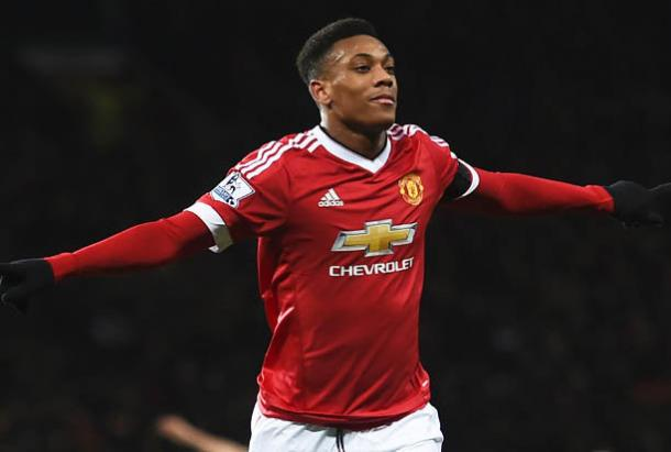 Martial has enjoyed a solid start to life at Old Trafford   Photo: Getty