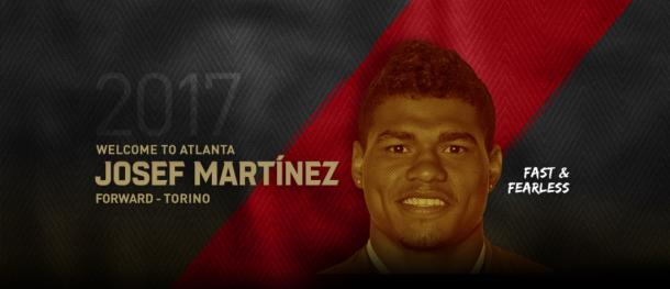 The club announced the signing of Martinez early Thursday morning. (Source: @ATLUTD)