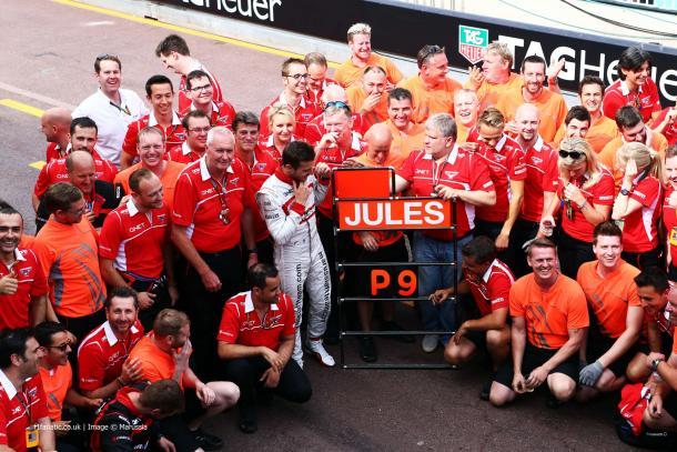 Jules Bianchi, el héroe | Fuente: Marussia