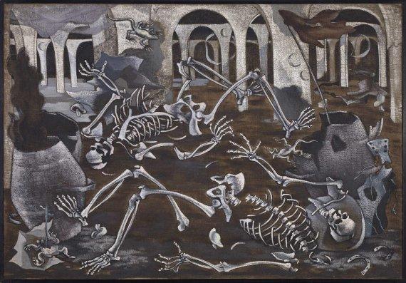 Antro de Fósiles,Maruja Mallo (1930)