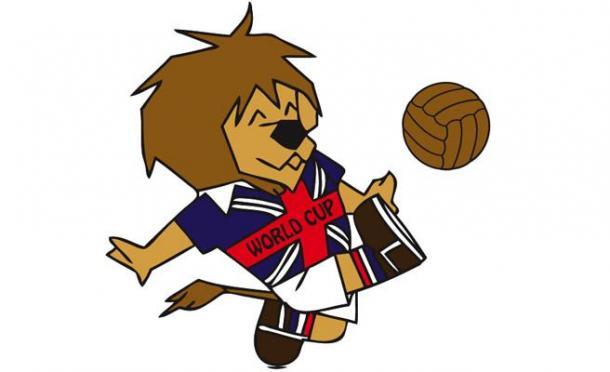 Willie Lion, mascota oficial del Mundial de Inglaterra 1966
