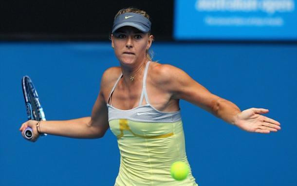Maria Sharapova en Melbourne. Foto: wtatennis