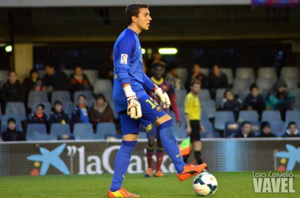 Jordi Masip en su etapa en el filial / Foto: Laia Cervelló (VAVEL.com)