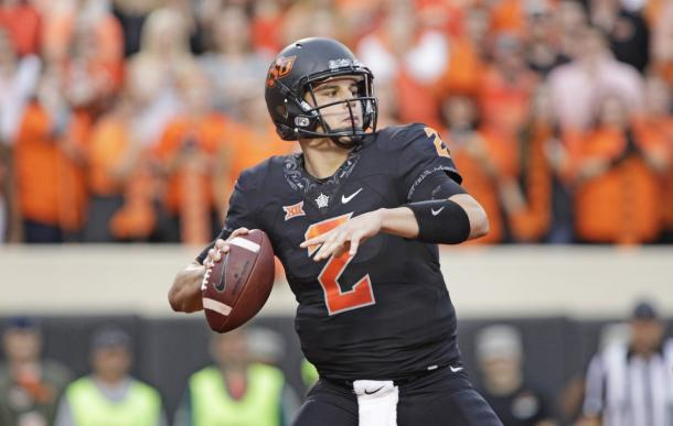 Although he's roundly considered the 6th best passer in the class, there are questions regarding whether Mason Rudolph deserves to go in the first round. | Getty Images