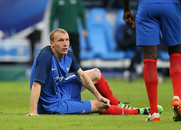 Mathieu se lesionó en un amistoso con la selección. // Foto: Getty Images