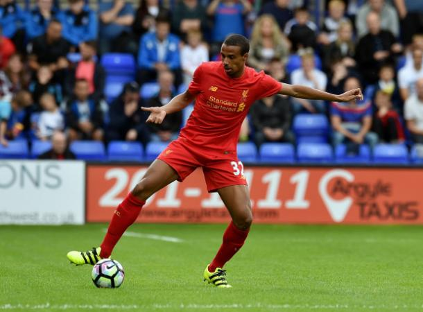Matip couldn't finish the fixture against Wigan (photo; Getty Images)