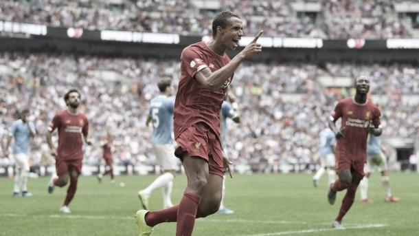 Gol de Matip/ Foto: Manchester City