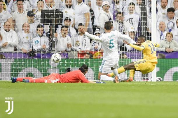 Matuidi marcou na remontada da Juve sobre o Real Madrid pelo segundo jogo das quartas da Champions League. (Foto: Divulgação/Juventus)