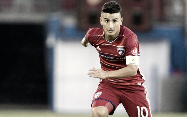 Mauro Diaz nearing a return for his FC Dallas side. | Photo: FC Dallas