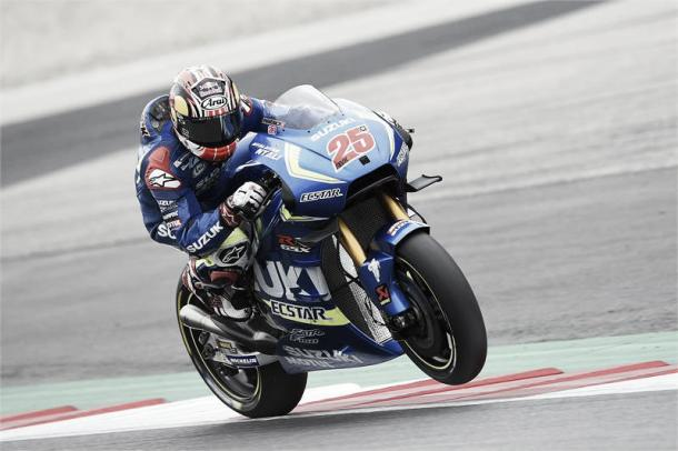 Vinales finished in third position behind the Ducati's |  Photo: www.maverick25.com