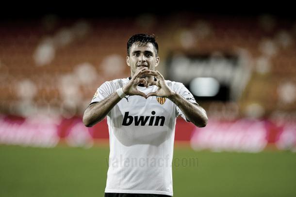 Maxi Gómez./ Foto: Valencia CF