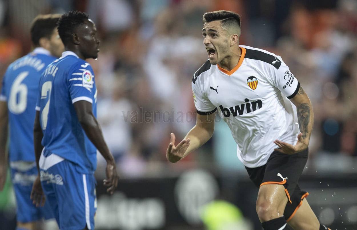 Maxi Gómez, puntal valencianista. Fuente: Valencia CF