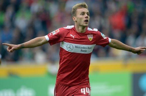 A key player for next season? Maxim celebrates. | Source: Bundesliga