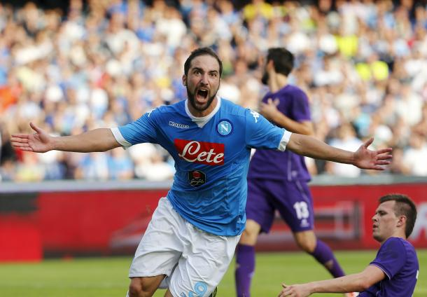 Gonzalo Higuain is also on Wenger's radar