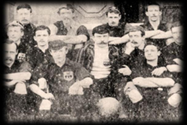 L'Hallam Football Club poco dopo la sua fondazione. | Fonte: foxsports.it