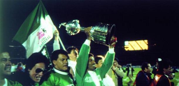 Alexis García levantó la anhelada Copa. | Foto: El Tiempo